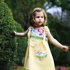 Summer Sweetness! Lollipops Organic, Upcycled and Vintage Childrens Clothing