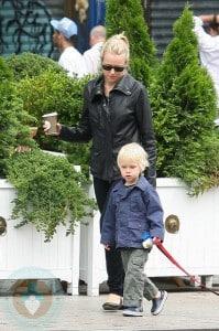 Naomi Watts and son Alexander 'Sasha'