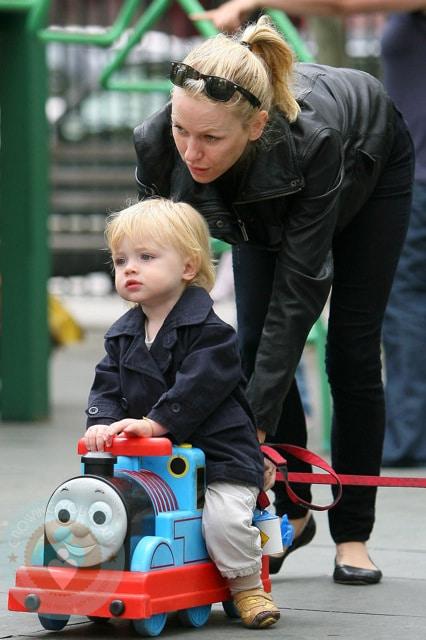 Naomi Watts and son Samuel 'Sammy'