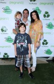Musician Scott Stapp, his wife Jaclyn and their children Jagger and Milan