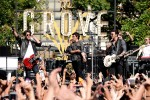 Jonas Brothers performing at the Grove