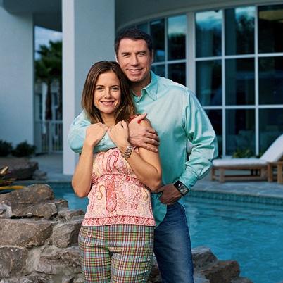 John Travolta And Kelly Preston Growing Your Baby