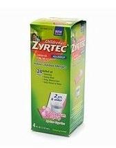 Zyrtec Bubble Gum Liquid Syrup