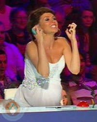 Pregnant Dannii Minogue