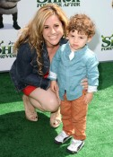 Marissa Jarret with son Zev
