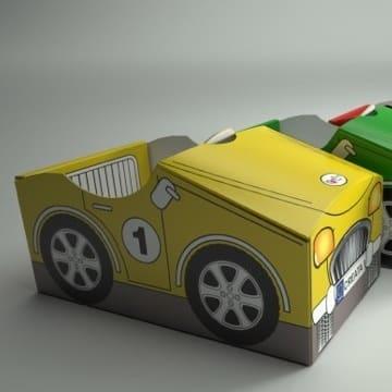 Eco Fabulous: Hand Print Toys Creata-Car