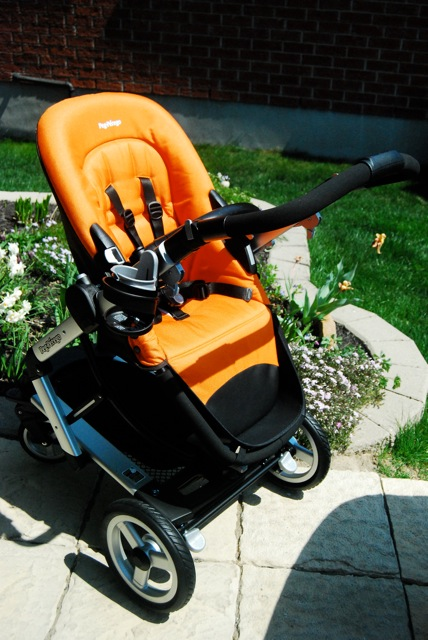 stroller seat without canopy attached growing your baby. Black Bedroom Furniture Sets. Home Design Ideas