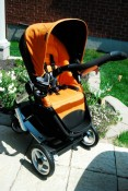 Stroller seat with Canopy attached
