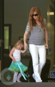 Isla Fisher and Olive Cohen