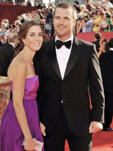 Chris O'Donnell and wife