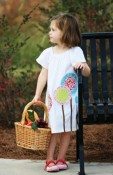 Lollipops Signature Handmade Eco Peasant Shift Dress