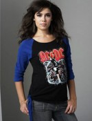 Rock Me Mama - AC/DC 3/4 length T