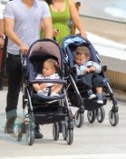 Max and Emme strolling In Monaco