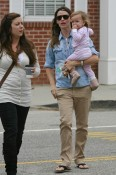 Jennifer Garner and Seraphina Affleck in LA