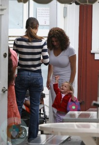 Jennifer Garner and Seraphina Affleck