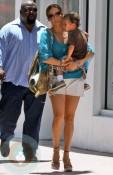 Jennifer Lopez and son Max