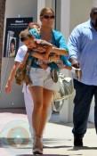 Jennifer Lopez Carries Max Anthony