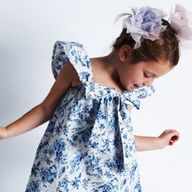 Baby Bean Vintage Daywear ~ Unique girl's clothing made with vintage fabrics