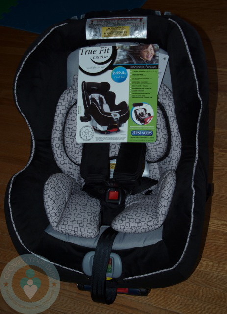 True Fit Convertible Car Seat
