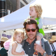 Dean McDermott Has His Hands Full in NYC!