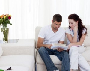 Couple Figuring Out Their Bills