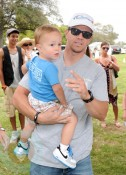 Mark Wahlberg with son Brendan