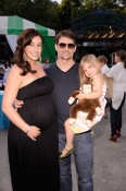 Ingrid Gordon, Jeff Gordon and Ella Gordon