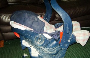 His Infant seat