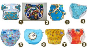 8 Swim Diapers For Your Little Fish!