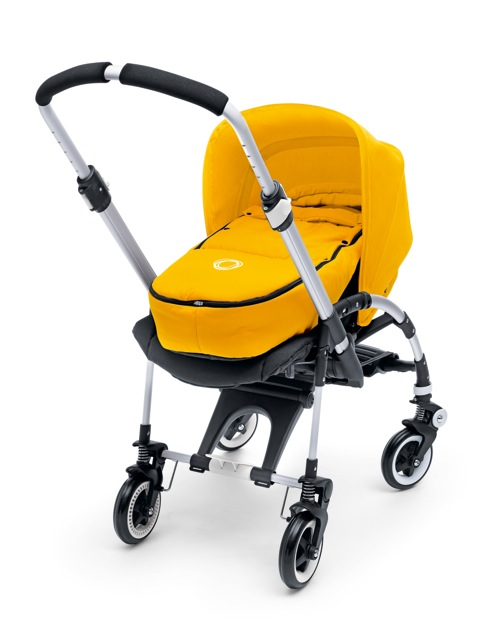 The 2010 Bee Does Not Include A Canopy With Standard Black Seated Stroller Instead You Purchase It Separately In Color Of Your Choice