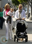 Kelly Rutherford and daughter Helena