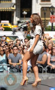 Alicia Keys Performing on GMA's Summer Concert Series