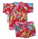 Kimono top and shorts