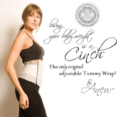 The cinch tummy wrap