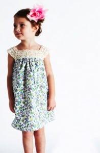 lonny crochet dress