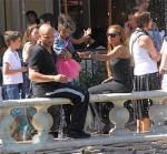 Melanie Brown Stephen Belafonte and Angel Iris Brown