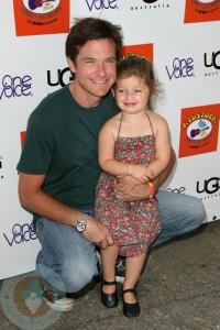 Jason Bateman and daughter Francesca