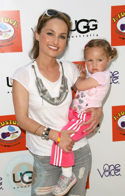 Giada De Laurentiis and daughter Jade Thompson