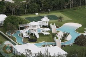 Celine Dion's Aquatic Backyard