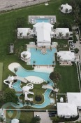 Celine Dion's Aquatic Backyard