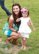 Ali Landry with daughter Estela