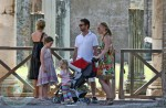 Jason Priestly with Wife Naomi and daughter Ava