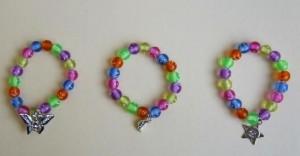 Children's Happy Charm Bracelets