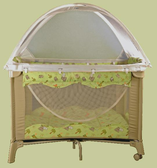 Child's Death Prompts Recall to Repair Playards Tent by Tots in Mind Due to Strangulation Hazard