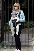 Courtney Thorne Smith with son Jake