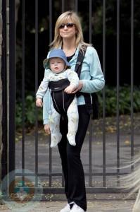 Courtney Thorne Smith with son Jake