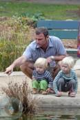 Liev Schreiber and sons Alexander and Sammy