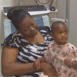 jessiah Jackson with his Grandma