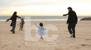 Soleil Moon Frye and husband Jason Goldberg with daughters Jagger and Poet
