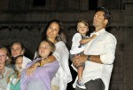 Brooke Burke, David Charvet with kids Shaya, Neriah and Sierra